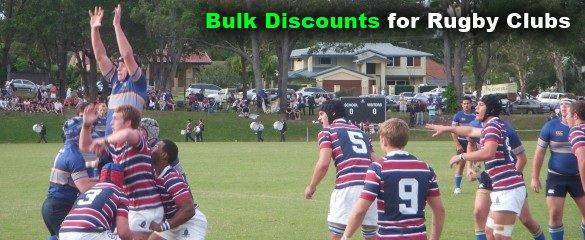 Rugby Club Bulk Discounts